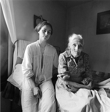 Edith and Rennie Booher © Emmet Gowin